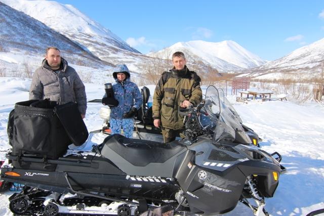 «Путешествие на снегоходах на Большие Банные источники», 2 дня