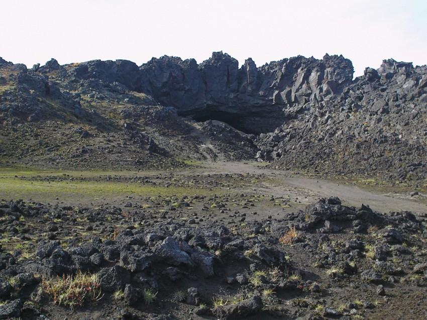 3Д наблюдение извержение вулкана Плоский Толбачик