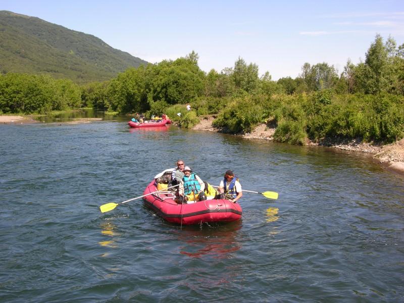 Сплав на рафтах по реке Быстрая (Малкинская), 5 дней