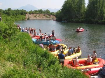 Спортивно-приключенческий тимбилдинг на Камчатке