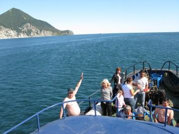 Морская прогулка по Авачинской бухте