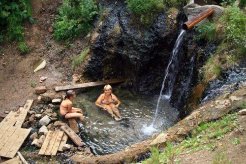 Экскурсия на Вилючинский водопад с посещением Верхне-Паратунских термальных источников, 1 день