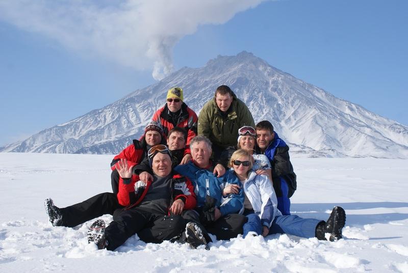 Снегоходная экскурсия в Лавовую падь к Авачинскому вулкану
