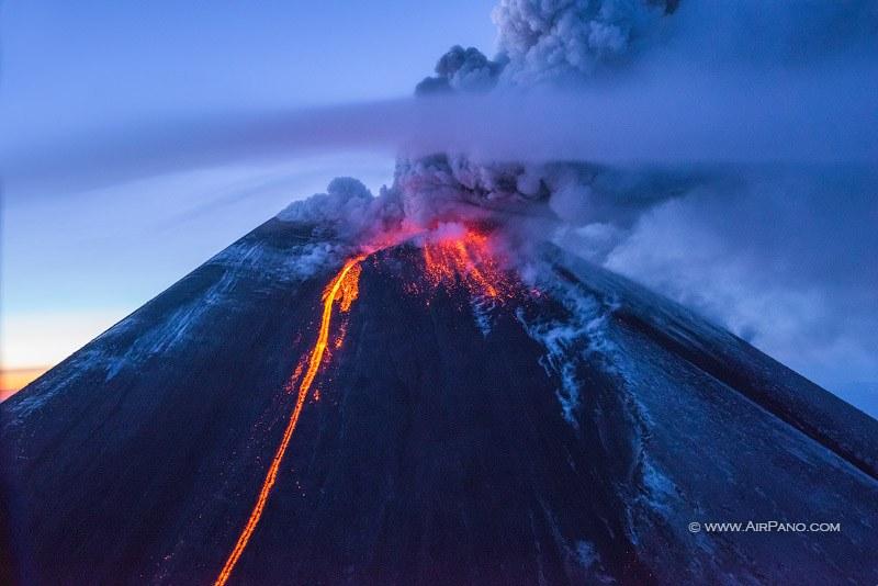 Вулканы Камчатки - вулкан Ключевской