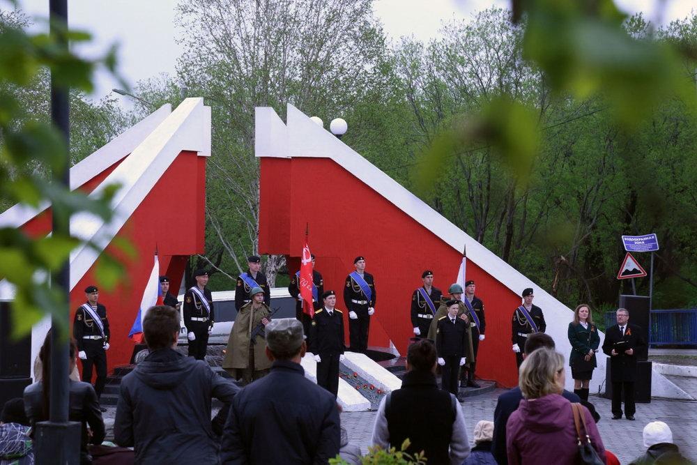 Аллея Героев в парке Победы