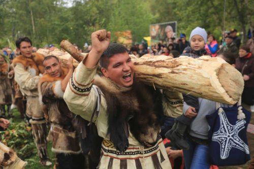 Община ительменов «Пимчах» ежегодно проводит обрядовый праздник «Алхалалалай»